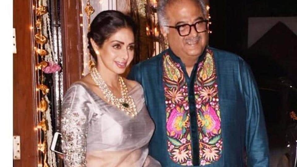 Boney Kapoor and Sridevi were happily married for over two decades.