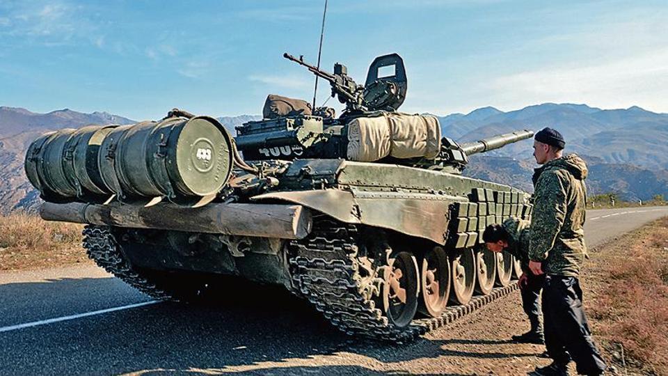 Russia deploys peacekeepers to secure Azeri-Armenia truce