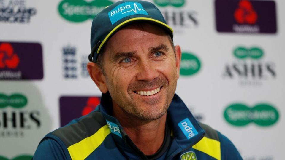 File image of Australia coach Justin Langer