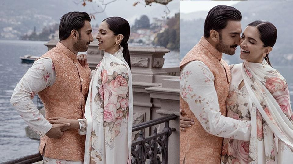 Ranveer Singh and Deepika Padukone have shared unseen pictures from their wedding on their second wedding anniversary.