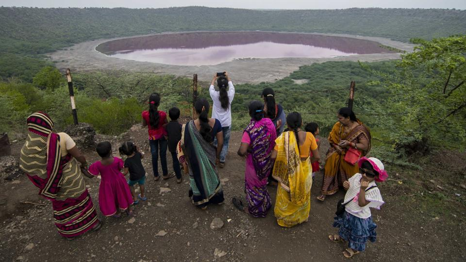 The lake had made news in August when the water in the circular-shaped lake turned pink. The phenomenon was caused by salt-loving Haloarchaea microbes which lead to pigmentation, according to a report by Agharkar Research Institute (ARI) in Pune, an autonomous body under the department of Science and Technology.