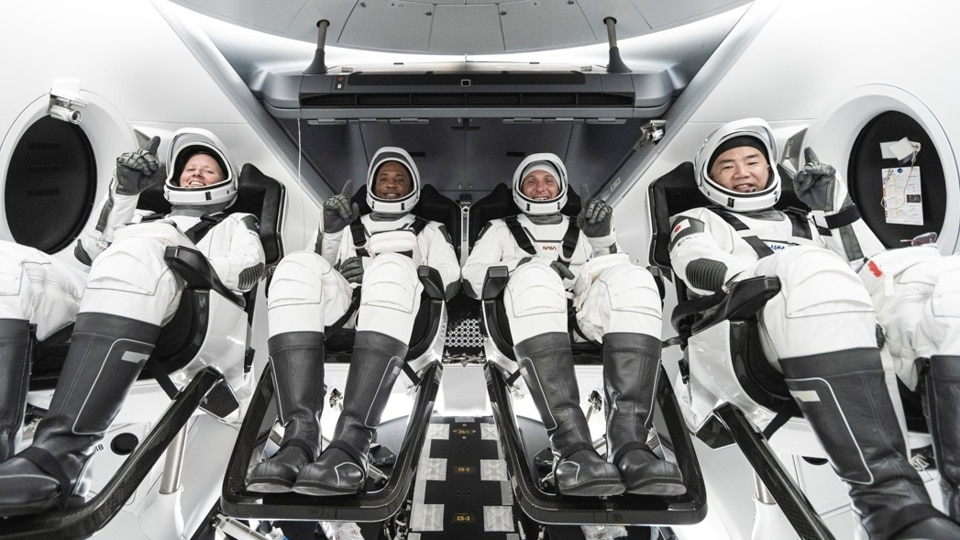 SpaceX's first commercial crew flight to take off on Sunday - Hindustan Times