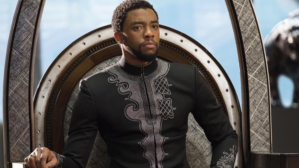 Chadwick Boseman played Black Panther in four films.