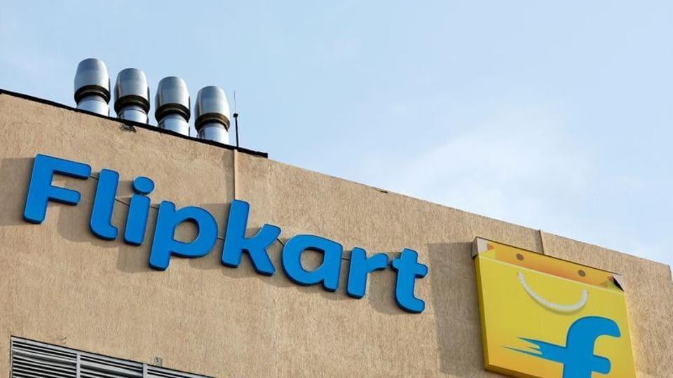 FILE PHOTO: The logo of Flipkart is seen on the company's office in Bengaluru (REUTERS/Abhishek N. Chinnappa/File Photo)