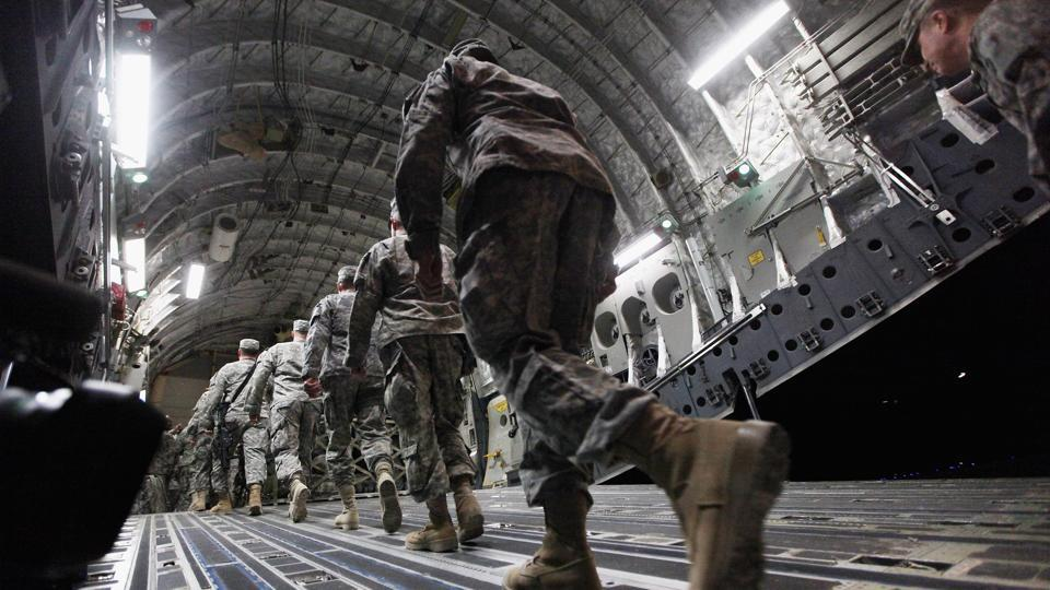 US government announces troop withdrawal from Afghanistan, Iraq
