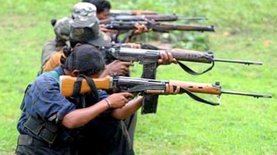 Two rifles -- Avtomat Kalashnikova (AK)-47 and Insas -- and cartridges were recovered from the slain Maoist commander. (File Photo)