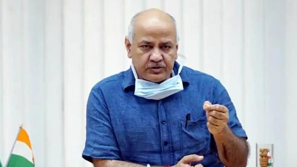 Delhi Deputy Chief Minister Manish Sisodia. (HT file)