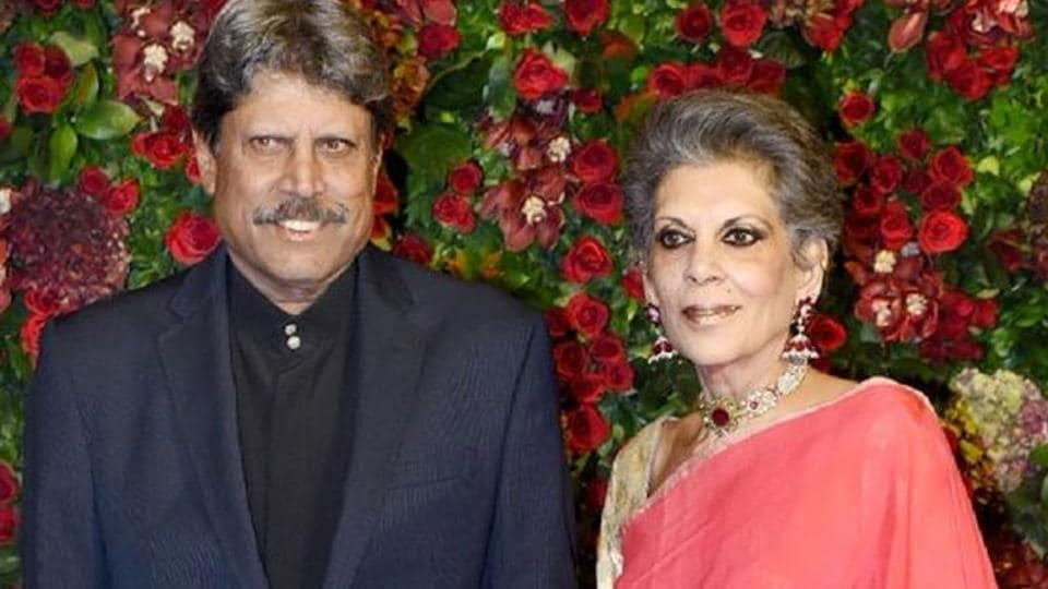 Kapil and Romi Dev have been married for 40 years.