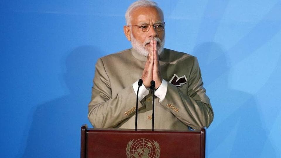 Prime Minister Narendra Modi said the credibility and effectiveness of global institutions such as UNSC was being questioned because these bodies reflect the mindset and realities of the world 75 years ago