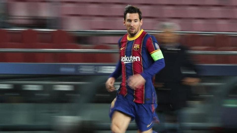 Soccer Football - Champions League - Group G - FC Barcelona v Dynamo Kyiv - Camp Nou, Barcelona, Spain - November 4, 2020 FC Barcelona's Lionel Messi in action REUTERS/Albert Gea/Files