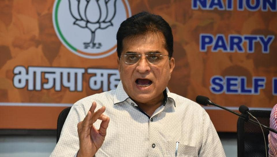 Kirit Somaiya had last week raised questions over the joint land purchase deals by Rashmi Thackeray and Manisha Waikar, wife of Sena legislator Ravindra Waikar.