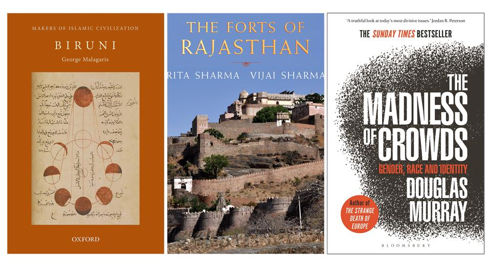 This week's good reads include a book on a historically famous scholar-scientist, one on fantastic forts, and another on contemporary culture.