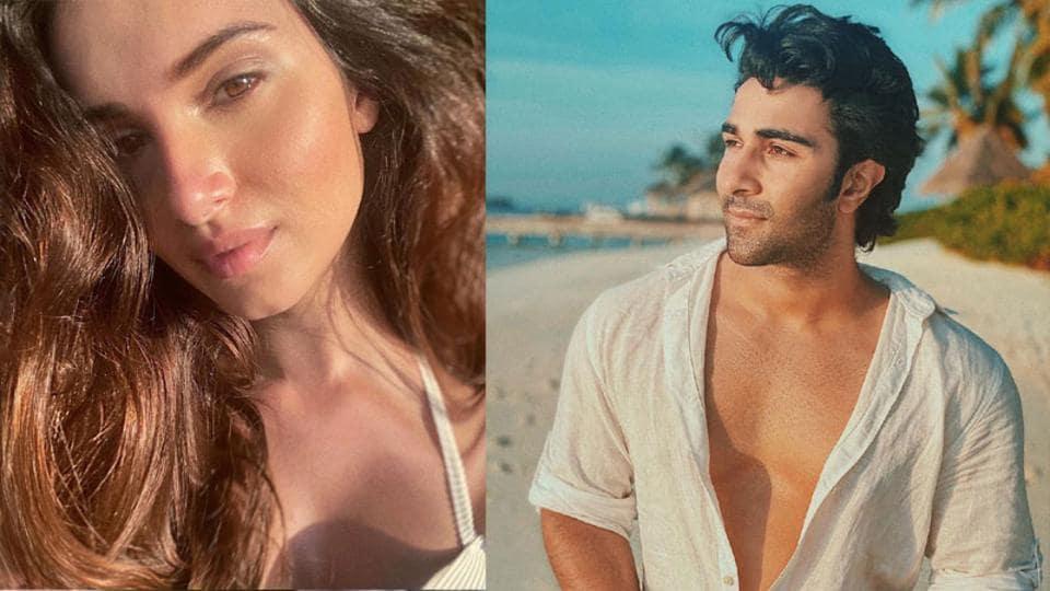 Tara Sutaria and Aadar Jain are holidaying in Maldives.