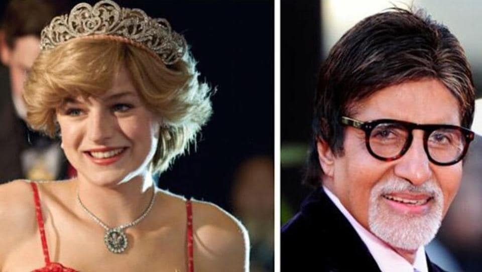 Amitabh Bachchan is binge-watching The Crown.