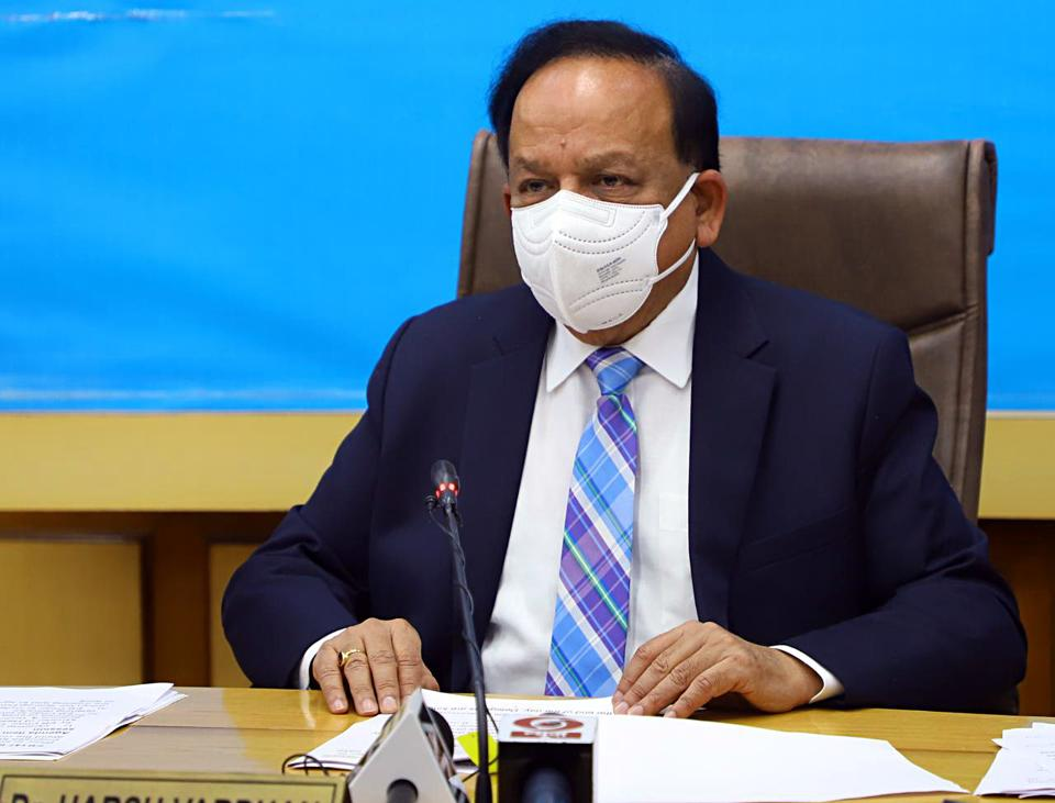 A vaccine will be available in a couple of months, union health minister Harsh Vardhan said.