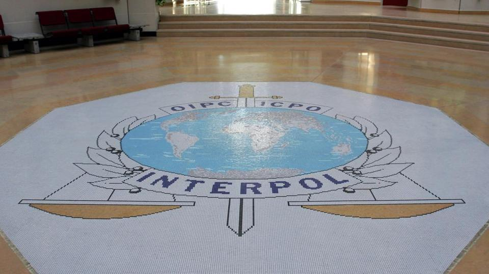 Interpol's headquarters in Lyon, central France.