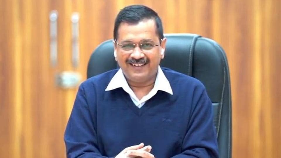 Delhi chief minister Arvind Kejriwal was participating in the 18th edition of the Hindustan Times Leadership Summit (HTLS), a virtual event, on Friday.