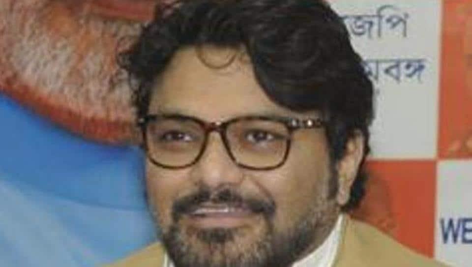 Union minister Babul Supriyo.