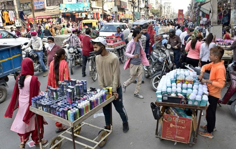 Massive rush due to Chhath Puja, coupled with encroachments and reckless parking of vehicles, were causing traffic jams in Field Gunj and Janakpuri ateas, police said.