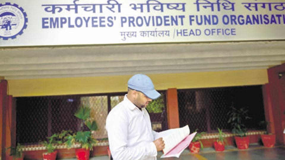 Employees provident fund organisation head office , EPFO office.
