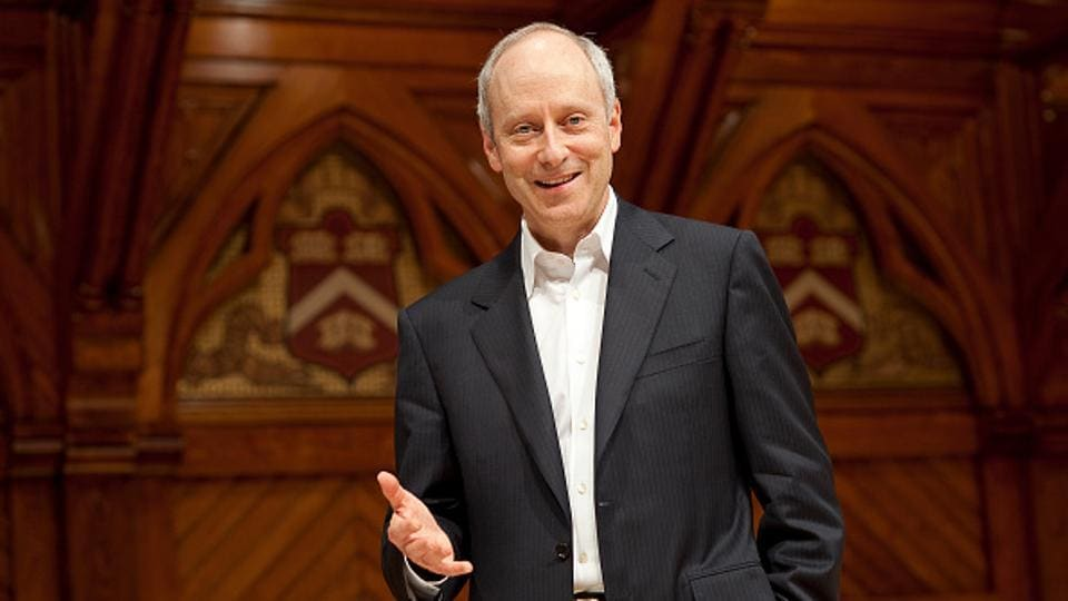 """""""The more opportunity is truly equal, the more those who succeed believe they earned it by their own doing,"""" Sandel says."""