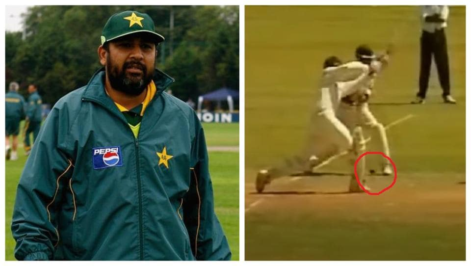 Inzamam on Ganguly's controversial dismissal in Chennai Test.