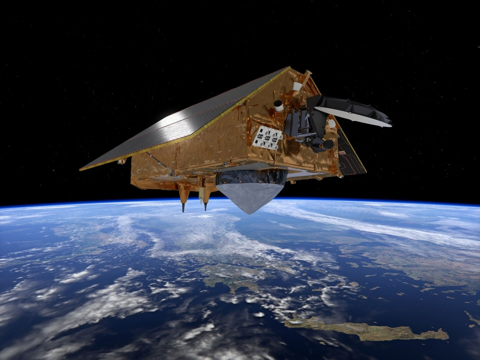 The Sentinel-6 Michael Freilich satellite was expected to deploy its solar panels and later make first contact with controllers.
