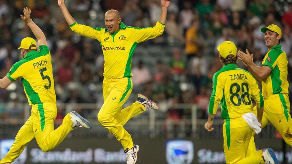 Photo of Australian Cricket team players