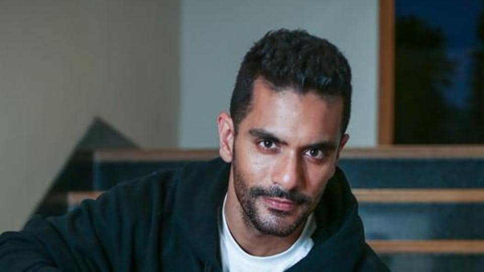 Actor Angad Bedi currently stars in web series Mumbhai