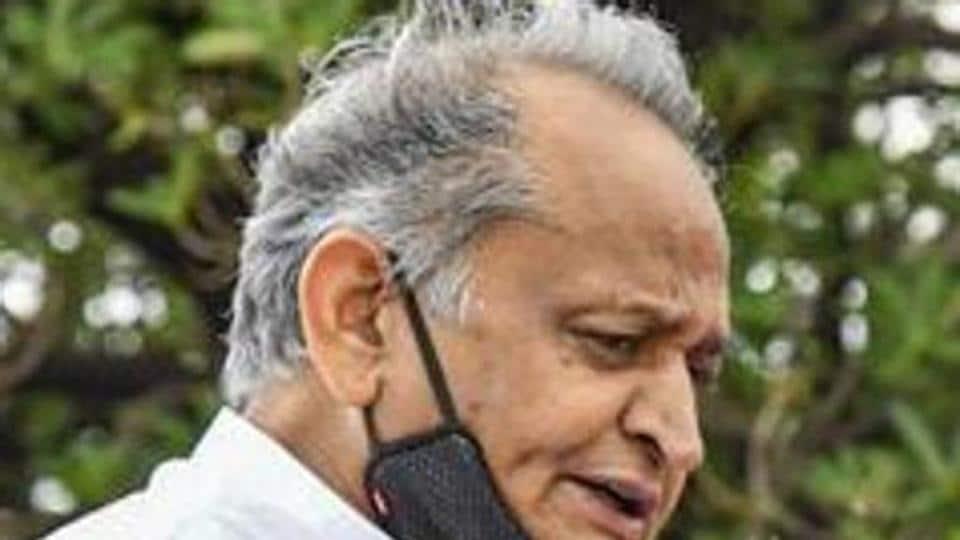 File photo: Rajasthan chief minister Ashok Gehlot.