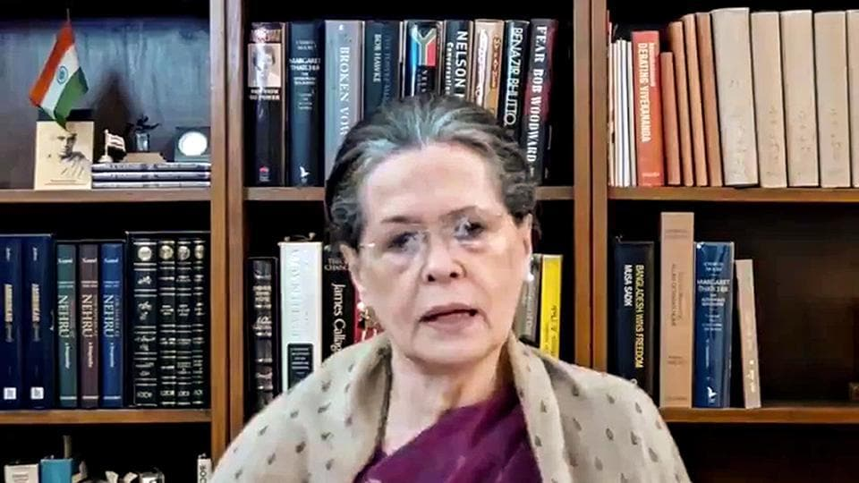 Sonia Gandhi, 73, arrived in Goa with her son and former Congress president Rahul Gandhi.