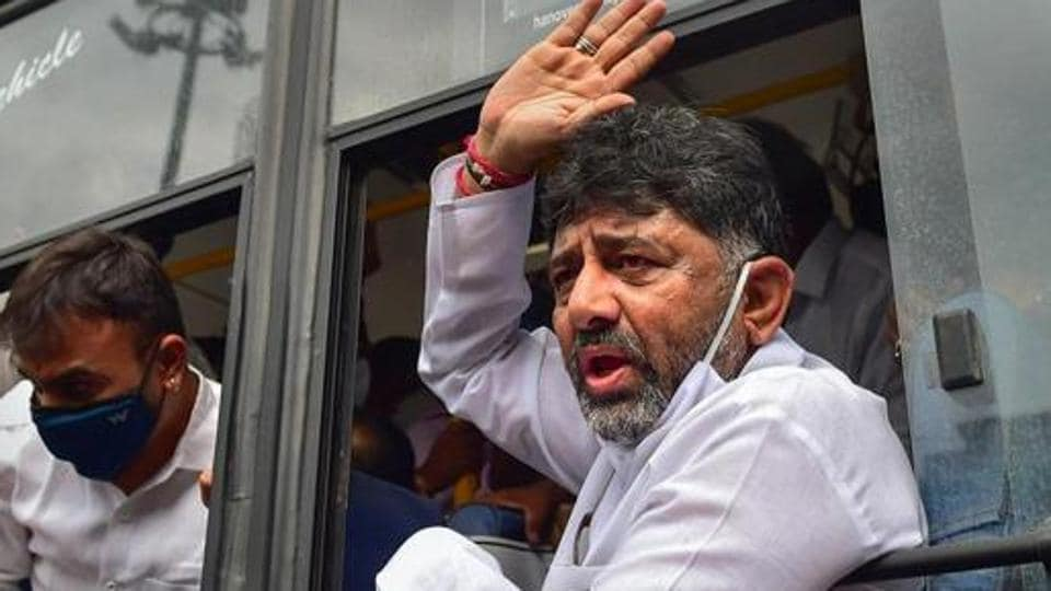On September 3 of last year, Shivakumar was arrested by the DE in a money laundering case and was booked into Tihar jail and was finally released on bail on October 24.