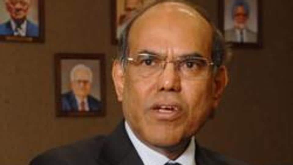 Former RBI Governor D Subbarao.