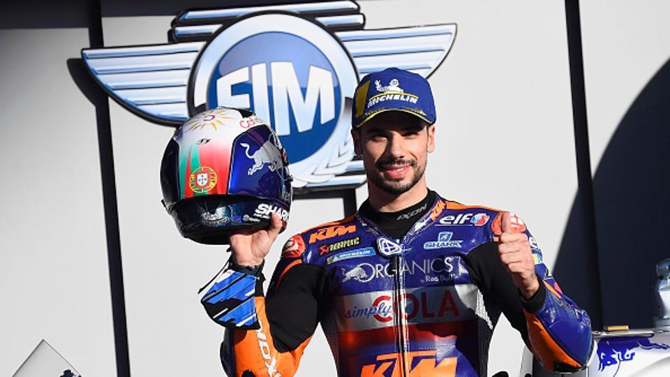 Miguel Oliveira won at home in MotoGP's season-ending Portuguese Grand Prix