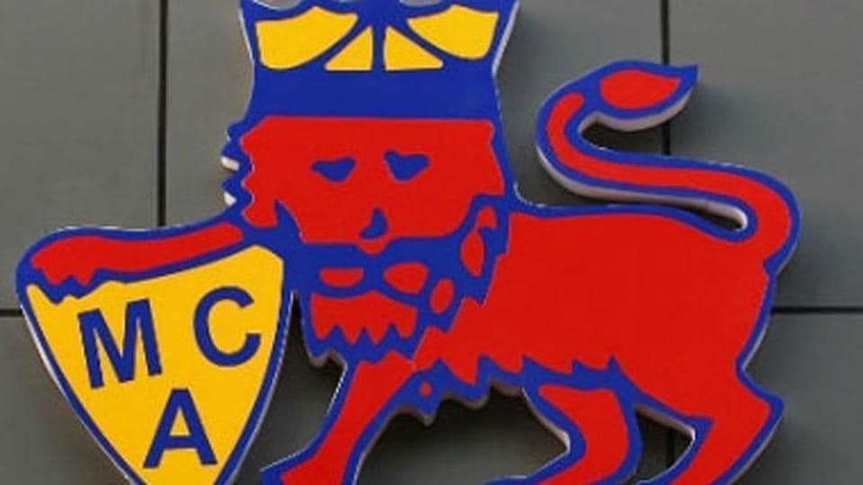 Logo of Mumbai Cricket Association