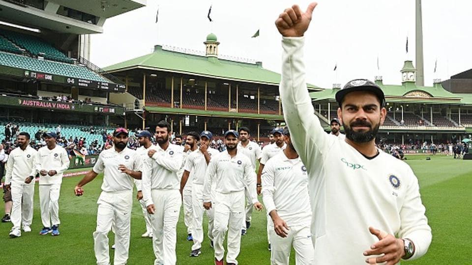 File image of Virat Kohli and Team India