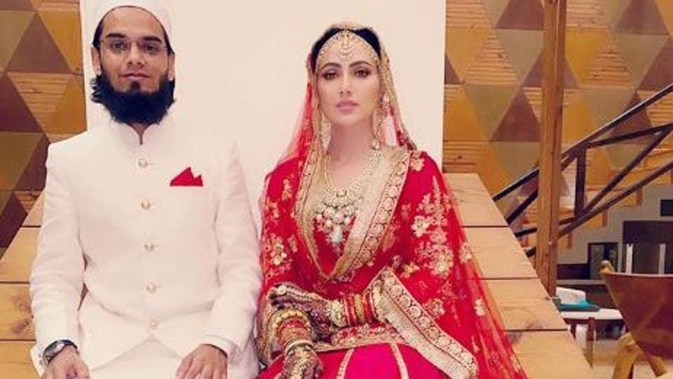 Sana Khan and Anas Sayed are married,