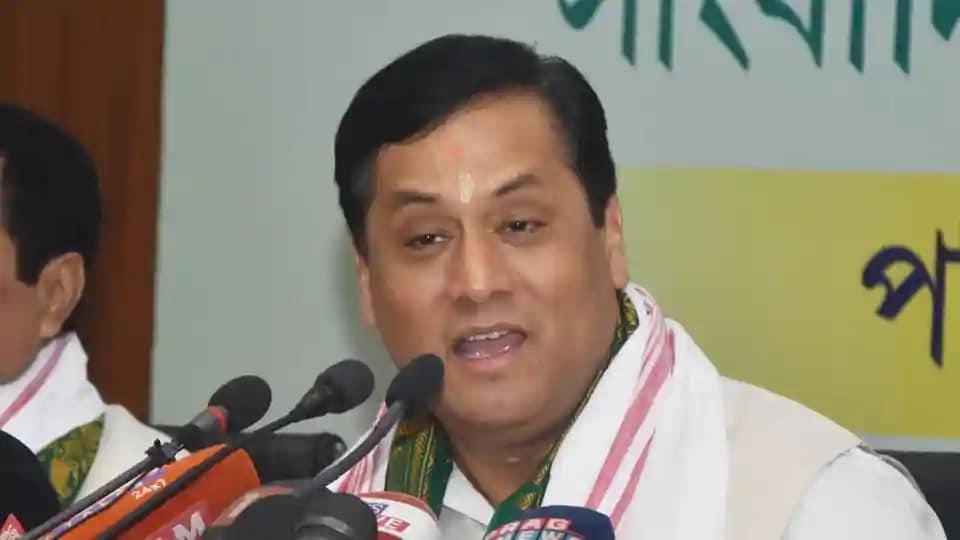 Assam chief minister Sarbananda Sonowal.