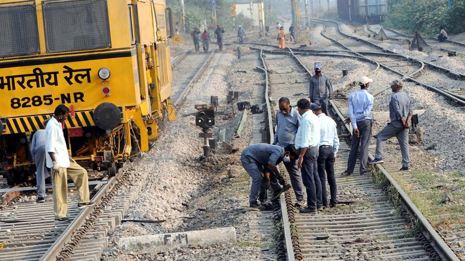 Railways is inspecting railway tracks in Punjab to ensure safe and secure resumption of services.
