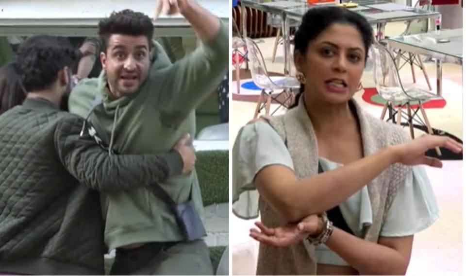 Bigg Boss 14 promo: Aly Goni gets violent and injures Kavita Kaushik, she says she feels unsafe around... - Hindustan Times