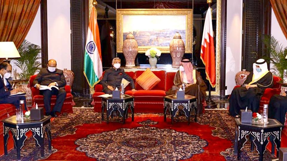 Jaishankar hails contributions of Indian diaspora in Bahrain for strengthening bilateral ties