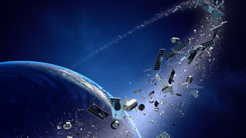 Experts have long warned that hundreds of thousands of pieces of space debris circling the planet — including an astronaut's lost mirror — pose a threat to functioning satellites and even the International Space Station.