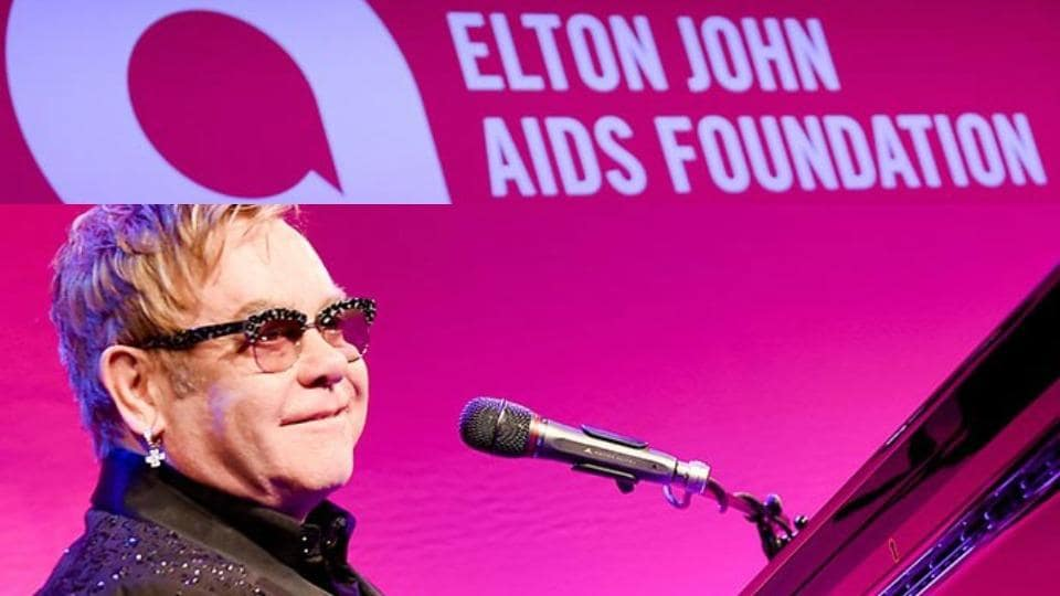 Singer Elton John calls for wider HIV testing to curb transmissions amid Covid-19 and end new cases in England by 2030