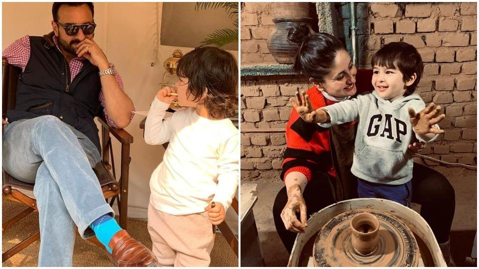 Saif Ali Khan on trolls targeting Taimur's pottery class pics: 'It can get frustrating being penned in a small apartment '