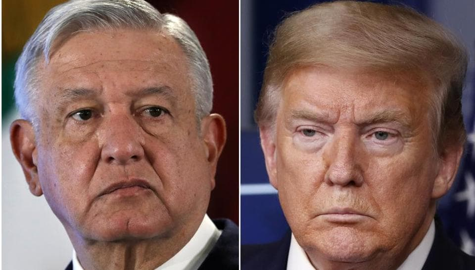 Mexican president says Trump helped him get Covid-19 vaccine
