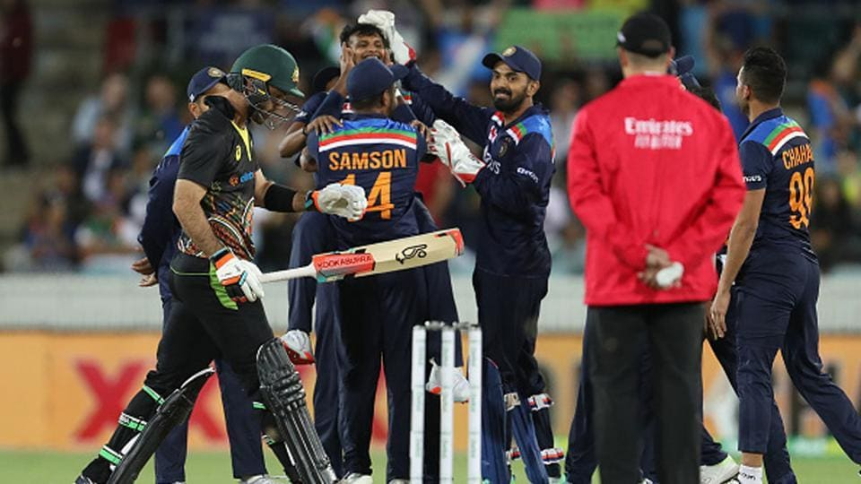 India vs Australia Highlights 1st T20: Jadeja, Rahul, Chahal and Natarajan  shine in India's 11-run win against Australia - cricket - Hindustan Times