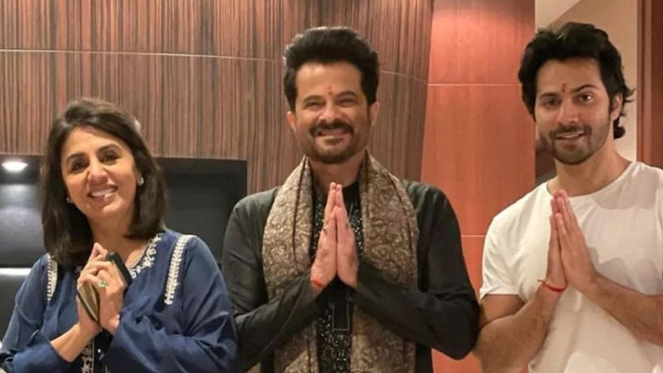 Neetu Kapoor and Varun Dhawan have tested positive for Covid-19 while their Jugg Jugg Jeeyo co-star Anil Kapoor has tested negative