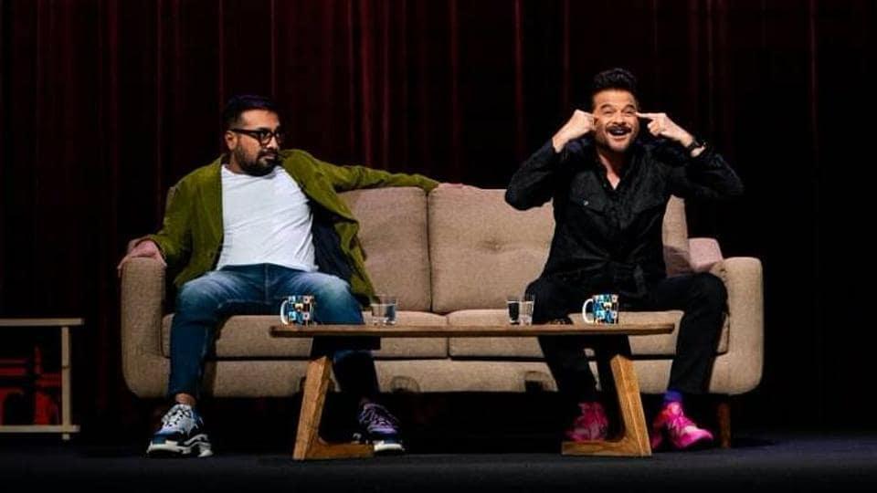 Anurag Kashyap and Anil Kapoor in AKvs AK
