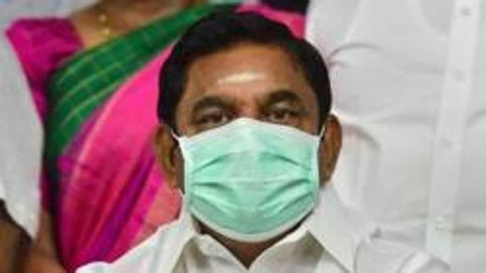 The Prime Minister of Tamil Nadu, Edappadi Palaniswami.
