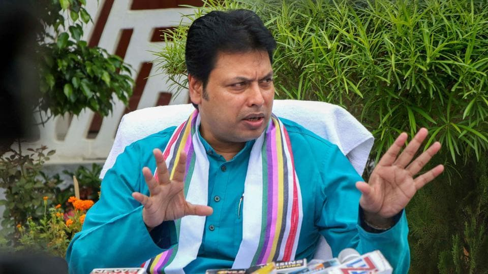 All Is Well Tripura Bjp In Charge Says Nothing S Amiss After Party Activists Raise Anti Biplab Slogans Hindustan Times